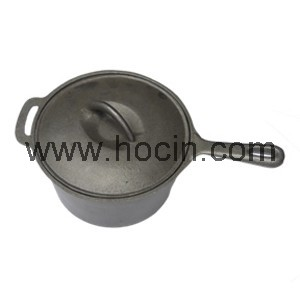 Cast Iron Saucepan, 82SP1995HL-P