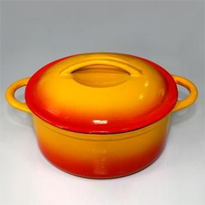 Round Enameled Cast Iron Casserole, CR2293S