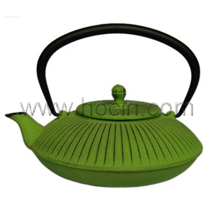 1.15 liter cast iron teapot with s/s mesh filter