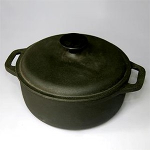 Round Cast Iron Casserole CR2185S