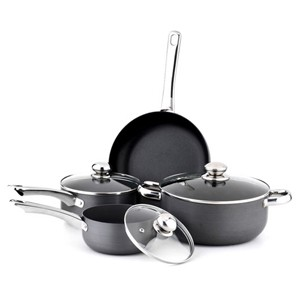 Hard Anodized Aluminum Non-stick Cookware Set, S5602