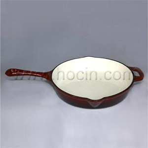 Round Cast Iron Skillet With Handle, CIPR2555SH