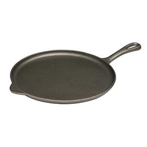 Pre-seasoned cast iron crepe pan / griddle