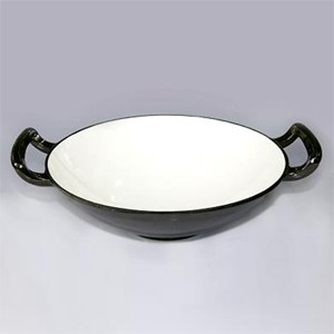 Enameled Cast Iron Wok, 83W4095S