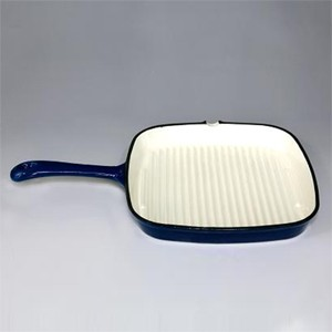 Enameled Cast Iron Grill Pan, 81GP2430S