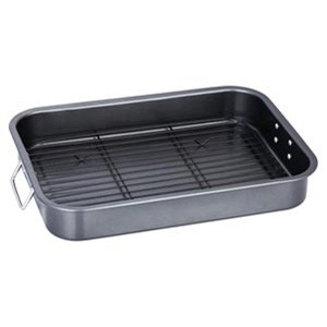 Non-stick Roaster/Roasting Pan With Rack