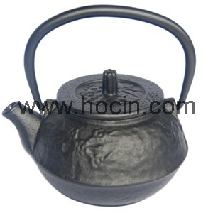 0.3L Plum Flower Cast Iron Teapot