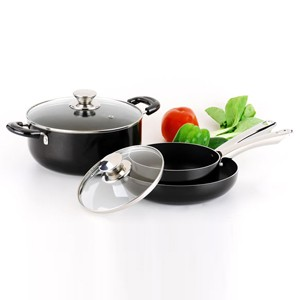 Pressed Aluminum Cookware Set, S5607