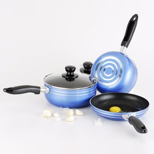 Pressed Aluminum Cookware Set, S5613