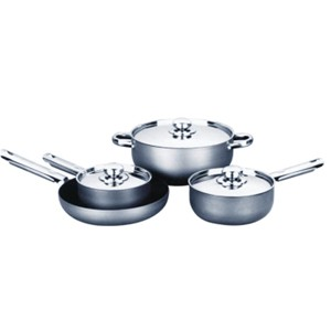 Hard Anodized Aluminum Cookware Set, S5614