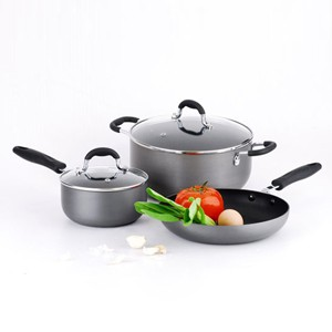Hard Anodized Aluminum Cookware Set, S5616