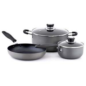 Hard Anodized Aluminum Cookware Set, S5618