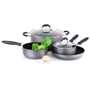 Hard Anodized Aluminum Cookware Set, S5619