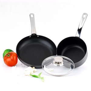 Hard Anodized Aluminum Cookware Set, S5621