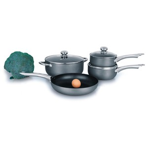 Hard Anodized Aluminum Cookware Set, S5622