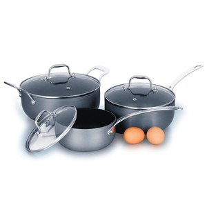 Hard Anodized Aluminum Cookware Set, S5623