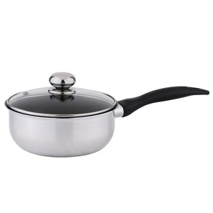 Aluminum saucepan with tempered glass lid, 5206
