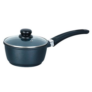 Forged Cast Aluminum Saucepan With Lid, 5219