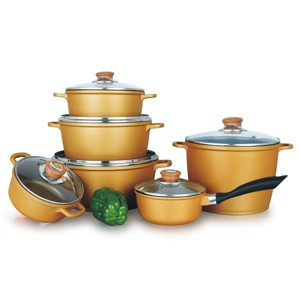 Die Cast Aluminum Cookware Set, S5625