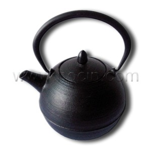 0.7 liter cast iron tetsubin with a pleasing ring pattern