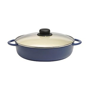 Cast iron braise pan, braiser casserole