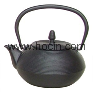 0.9 L cast iron tetsubin with a pleasing ring pattern