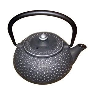 300ml cast iron teapot/tetsubin with tortoise shell pattern