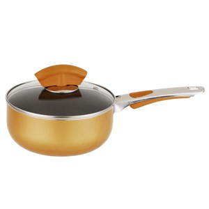 Aluminum non-stick saucepan with glass lid, 5203