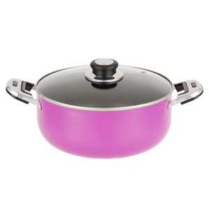 Aluminum Nonstick Sauce Pot With Glass Lid, 5103
